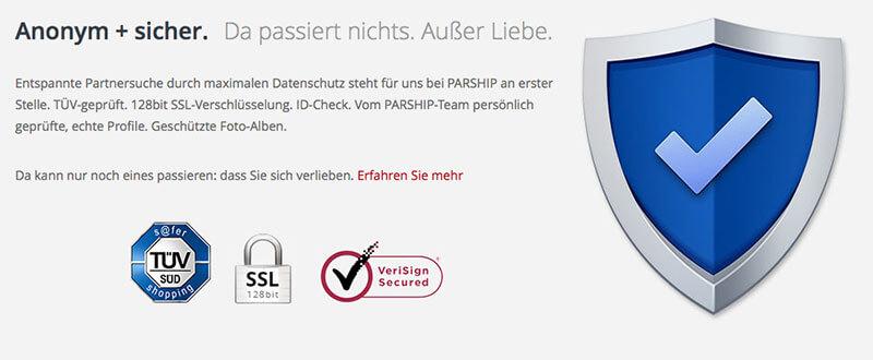 PARSHIP-Sicherheit